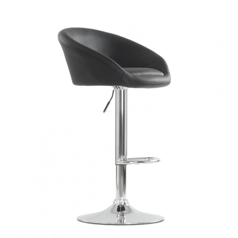 Барный стул Barneo N-311 Роки черная кожа
