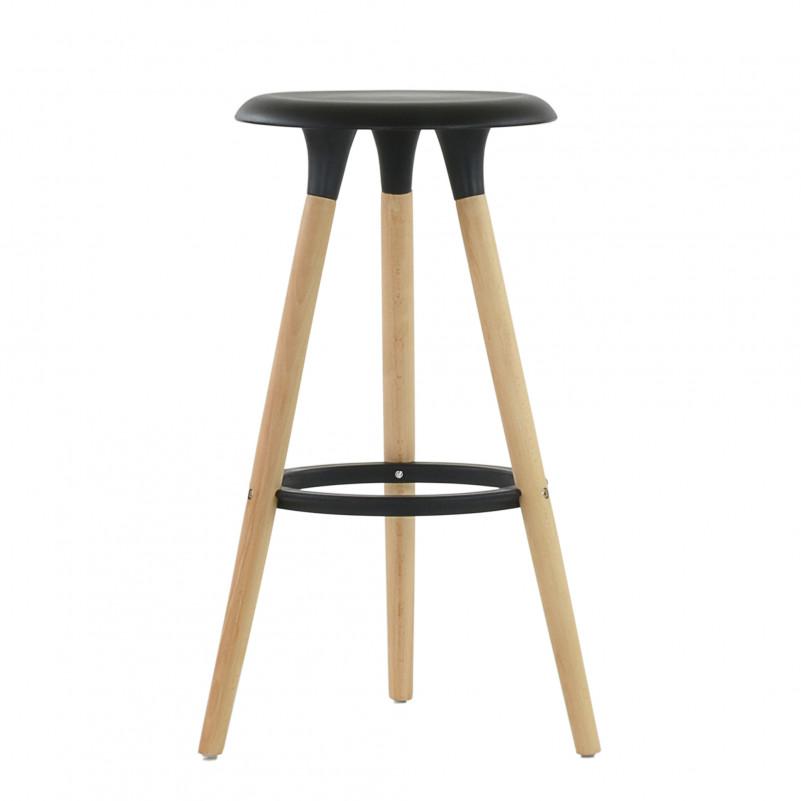 Барный стул Barneo N-19 Modern интерьерный черный
