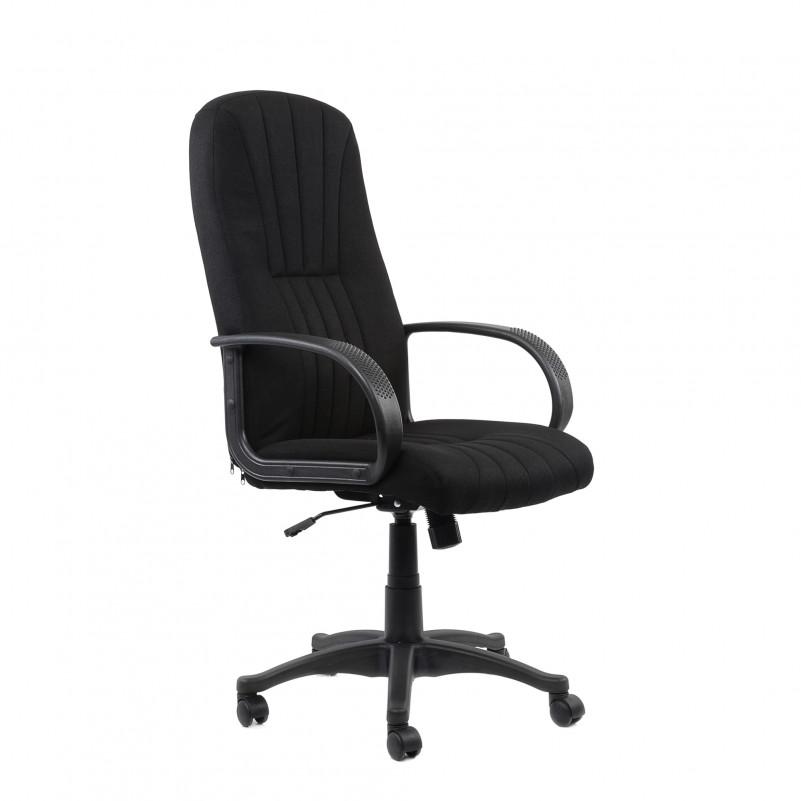 Кресло Barneo K-143 для персонала черная ткань (CH-898)