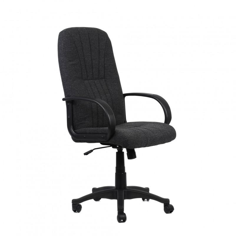 Кресло Barneo K-143 для персонала серая ткань (CH-898)