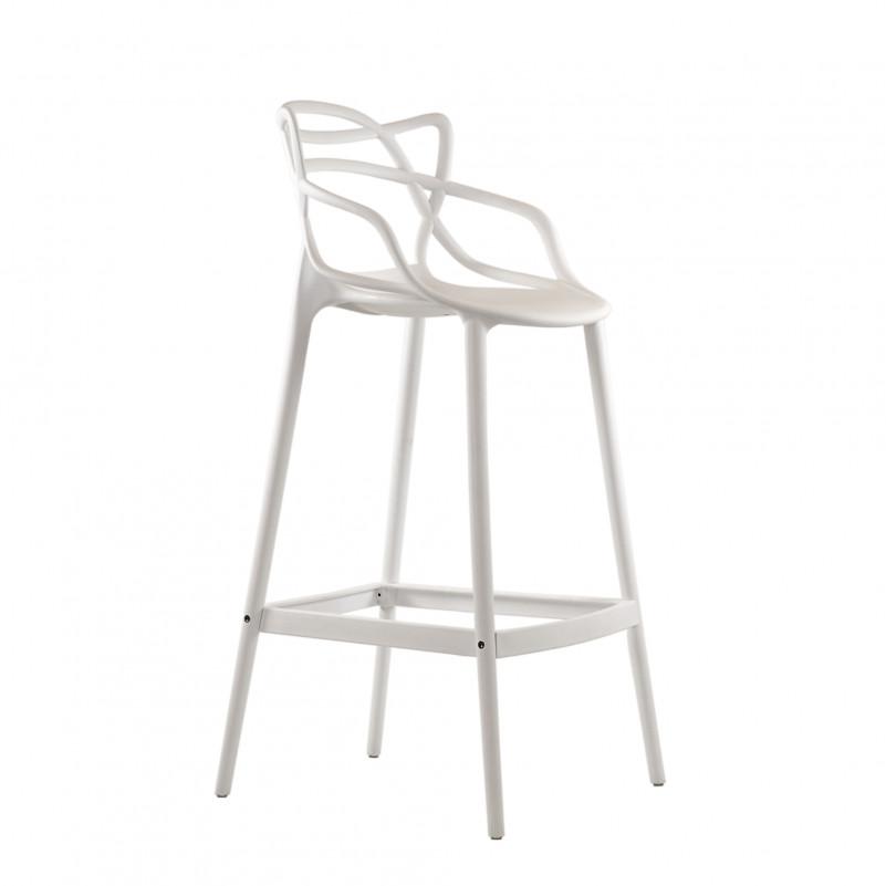 Барный стул Barneo N-235 Masters, белый