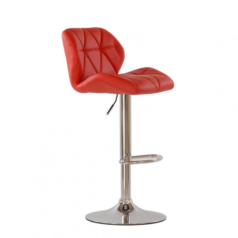 Барный стул Barneo N-85 Diamond красная кожа