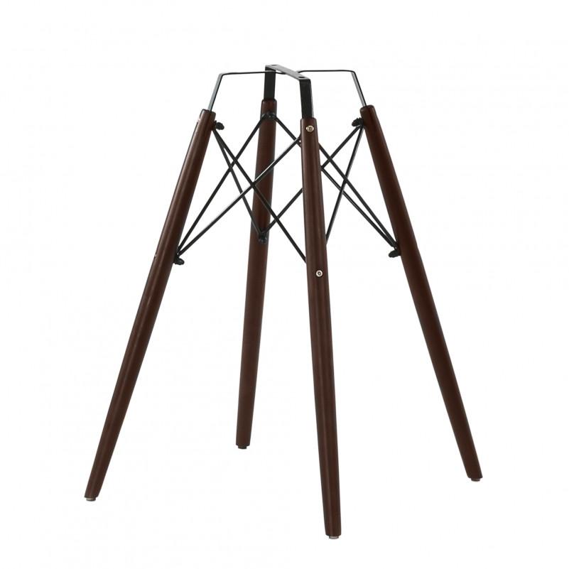 Каркас стула N-11 дерево, цвет темно-коричневый, с набором крепежа