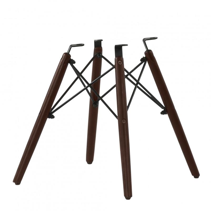 Каркас стула N-12 (N-14) дерево с набором крепежа, темно-коричневый