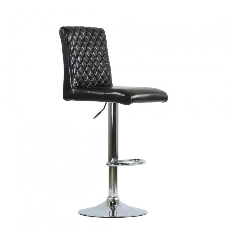 Барный стул Barneo N-46 X Икс коричневый глянец