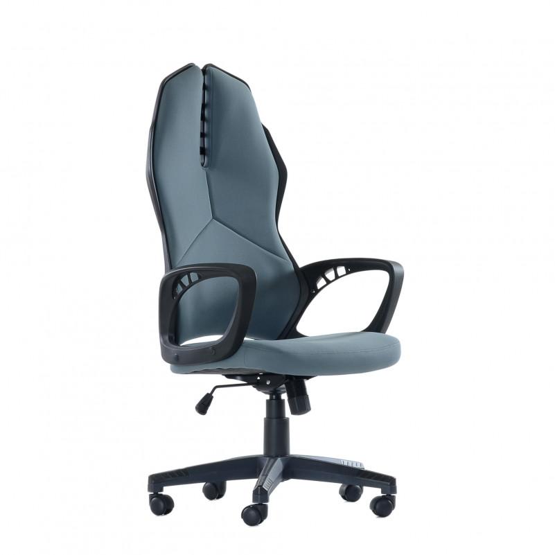 Кресло офисное Barneo 1128H темно-серое