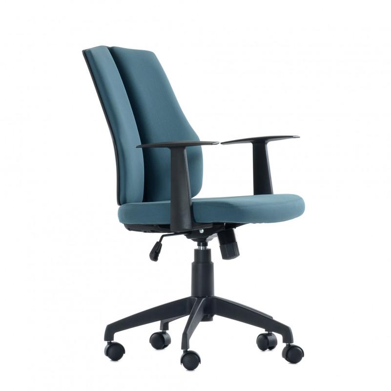 Кресло офисное Barneo 1126M синее