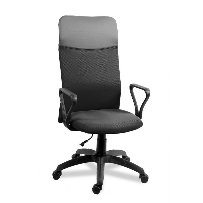 Кресло для персонала Астра А САМБА ТОП, сетка черная