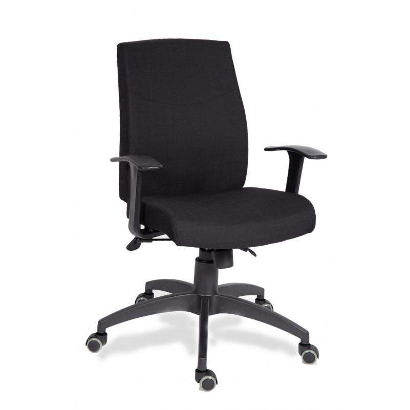 Кресло для персонала МГ-19 Т ПАУК - ткань серая