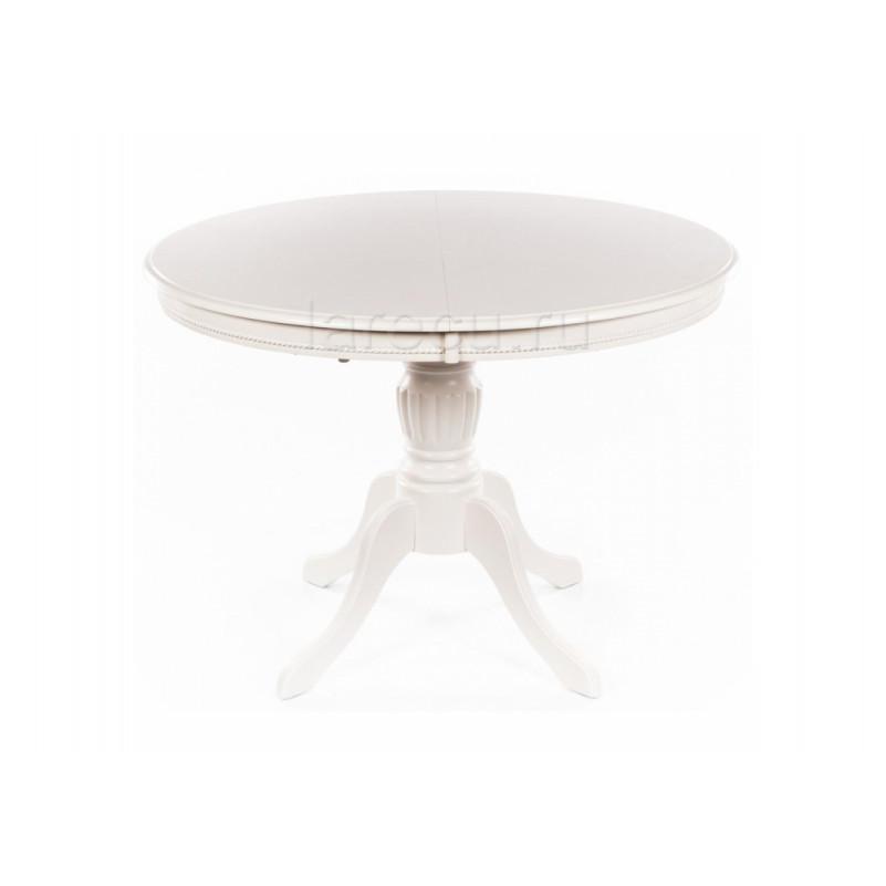 Стол деревянный Toskana 106 молочно-белый