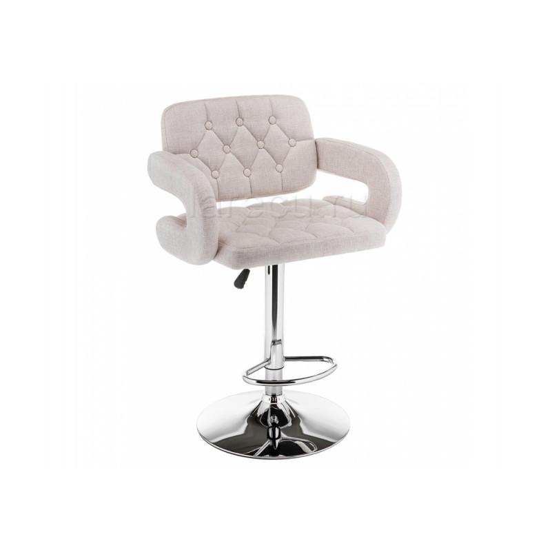 Барный стул Shiny ткань cream