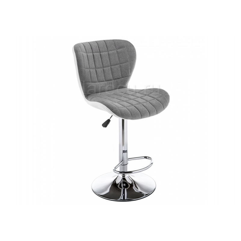 Барный стул Brend серый / белый