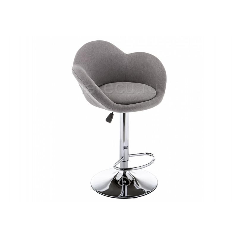 Барный стул Cotton серый