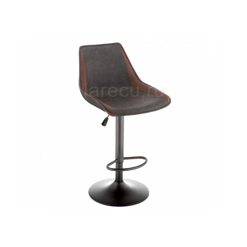 Барный стул Kozi серый / коричневый