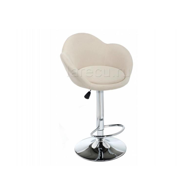 Барный стул Cotton beige fabric