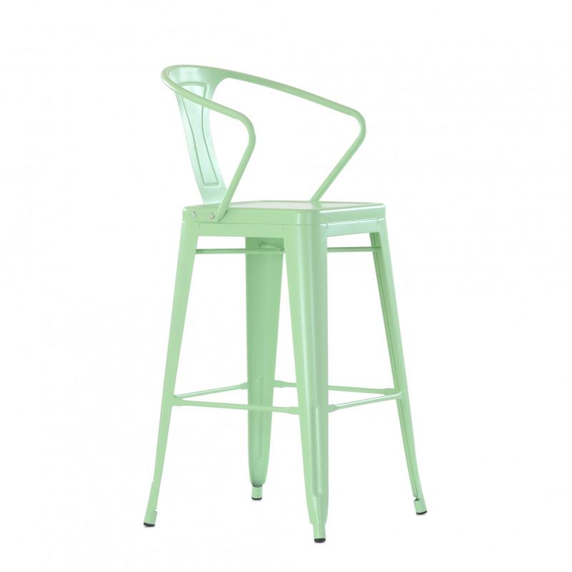 Барное кресло Barneo N-243 Tolix style цвет по RAL - металлический каркас
