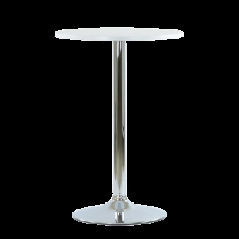 Стол Barneo T-111, MDF, H-87cm - круг диаметр 60см, RAL9003 белый