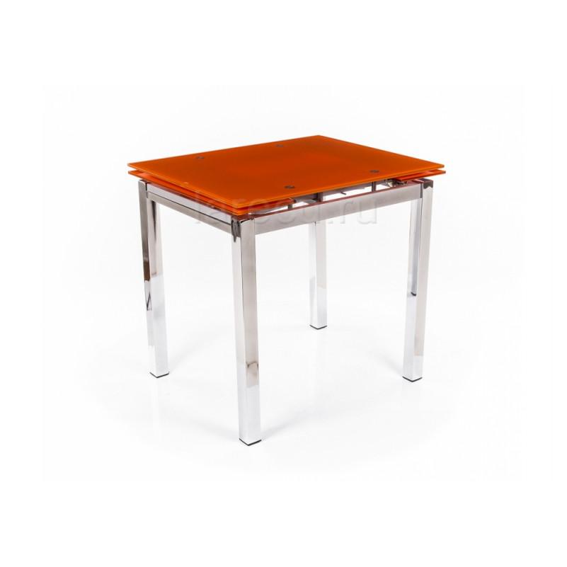 Стол стеклянный TB017-26 оранжевый