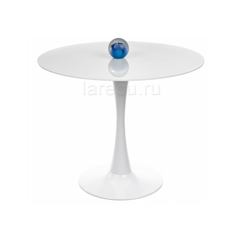 Стол стеклянный Tulip DT-1 718 super white
