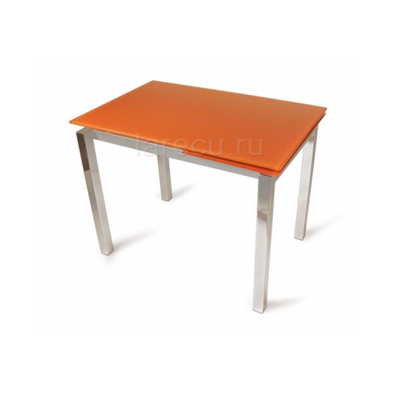 Стол стеклянный LMT-118 оранжевый