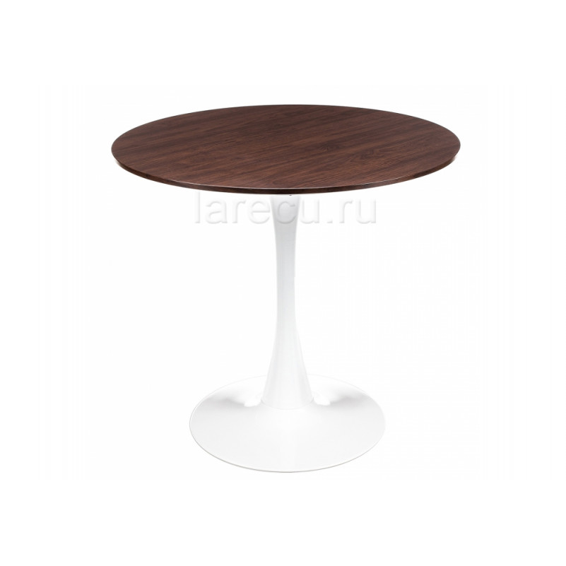 Деревянный стол Tulip Nut белый / орех