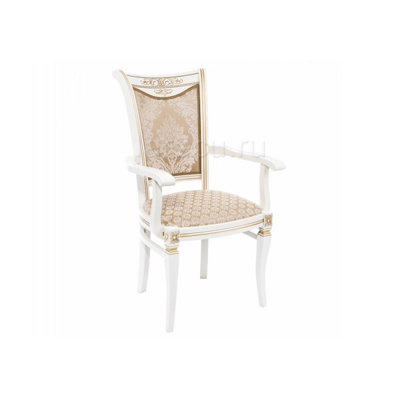 Деревянный стул Mariano молочное