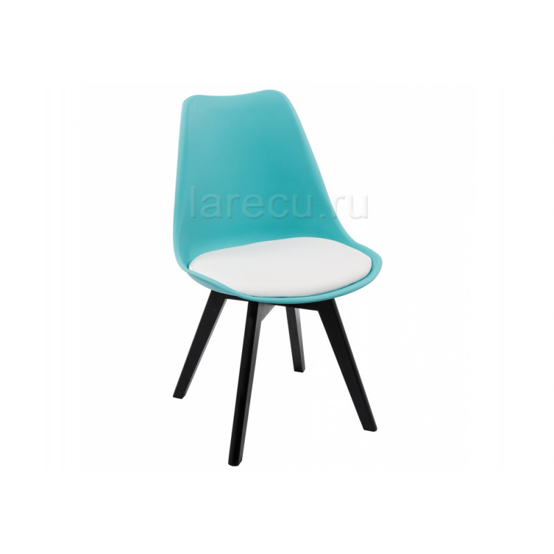 Деревянный стул Bon голубой