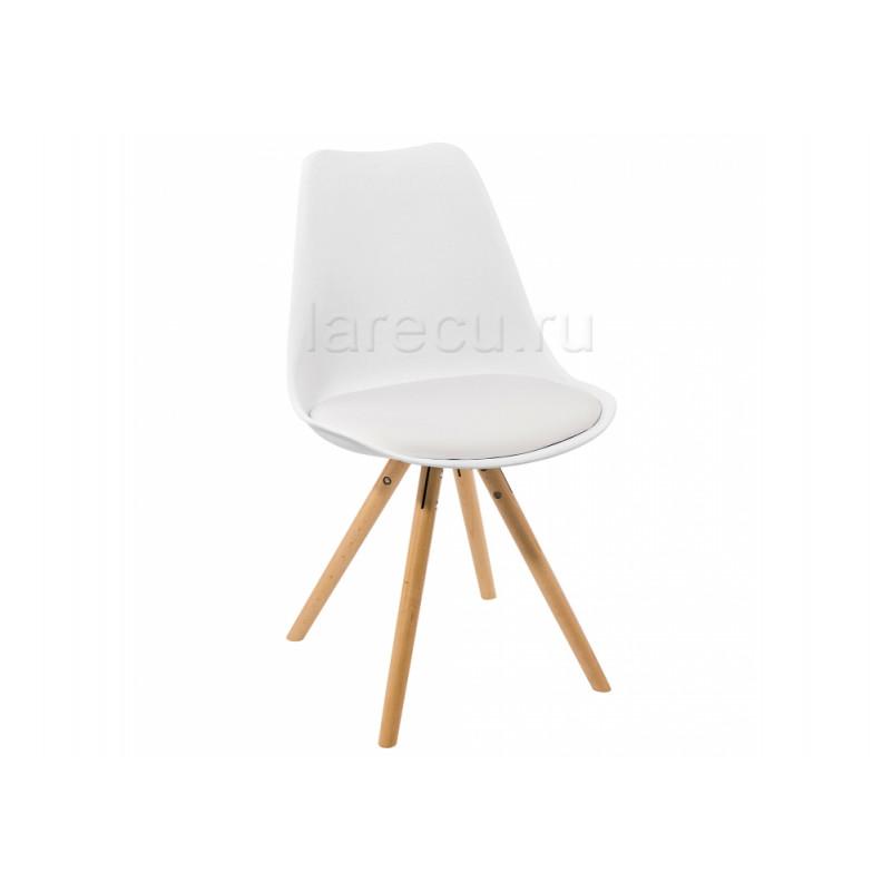 Деревянный стул Bonito белый