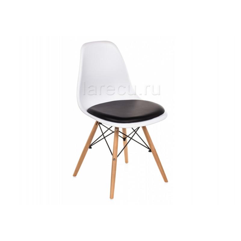 Деревянный стул PC-011 белый / черный