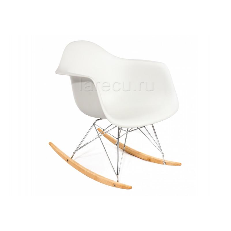 Деревянный стул Poc белый