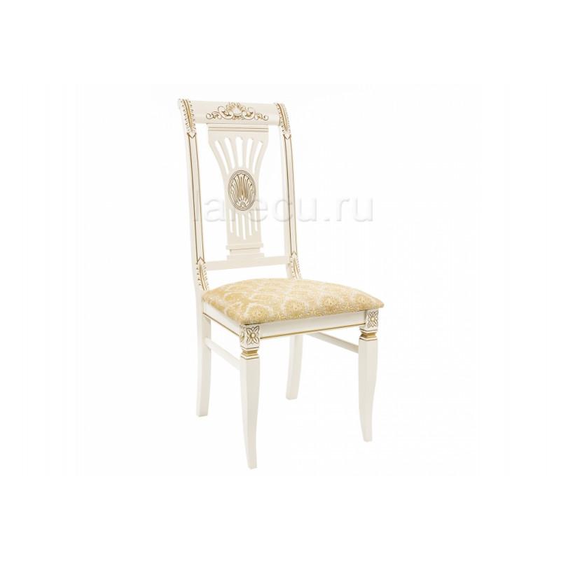 Деревянный стул Roy молочный