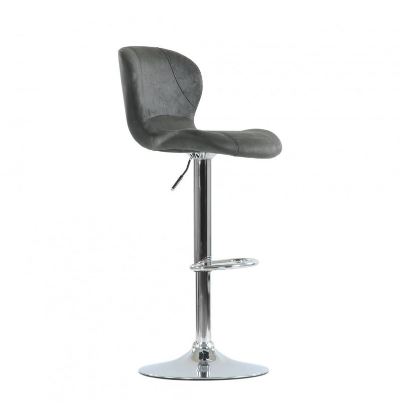 Барный стул Barneo N-86 Time / Black Vintage - VPU серый винтаж PK970-11