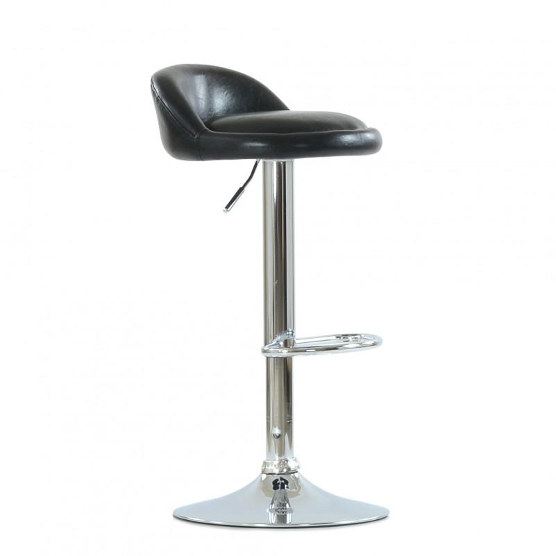 Барный стул Barneo N-97 Минск - каркас барного стула хром в сборе, SPU черный глянец