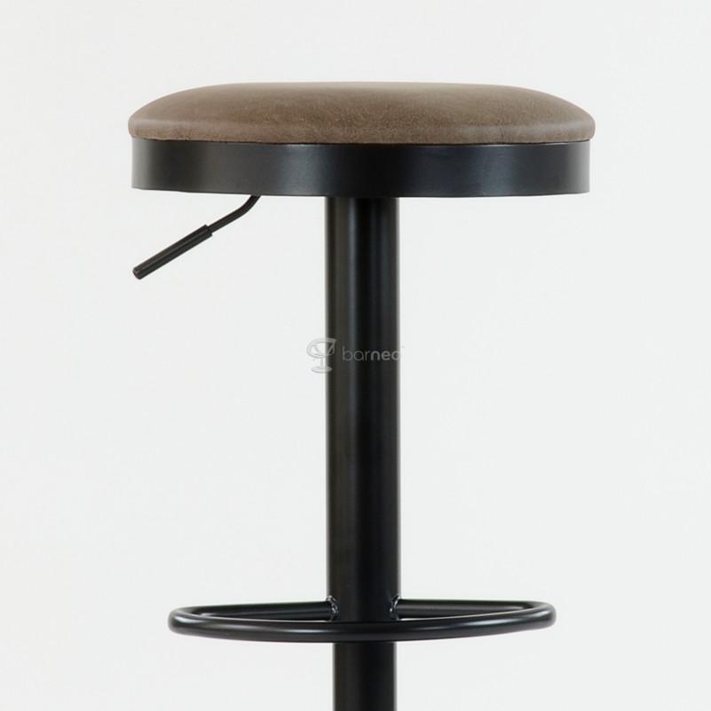 Барный стул Barneo N-129 Green / Black Vintage - FPU коричневый 510-21С