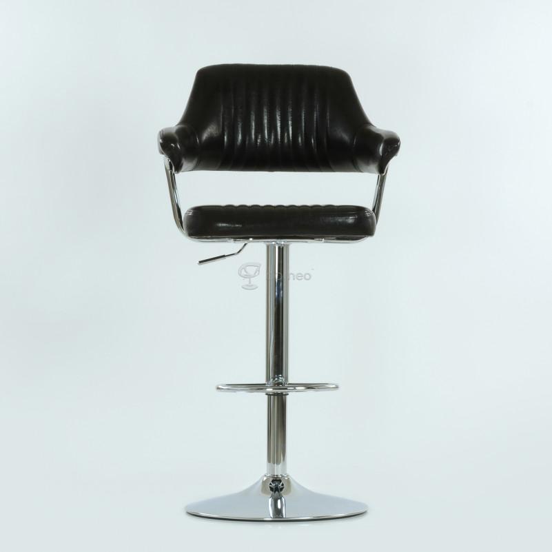 Барный стул Barneo N-152 Cherokee коричневая кожа