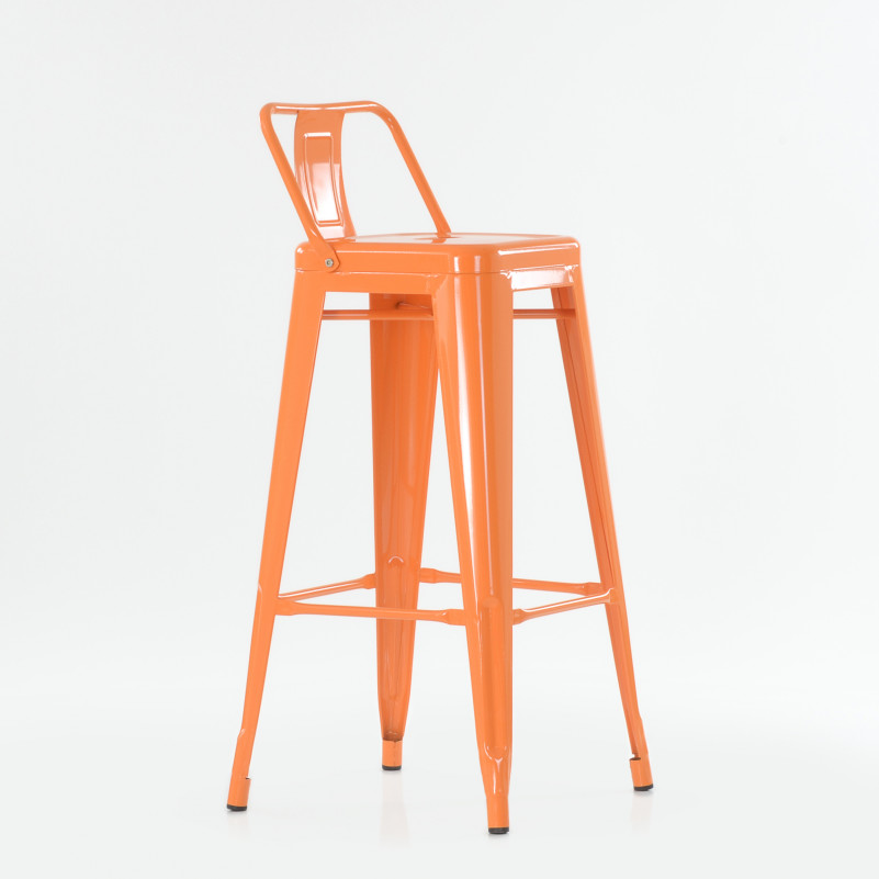 Барный стул Barneo N-242 Tolix style цвет RAL - металлический каркас