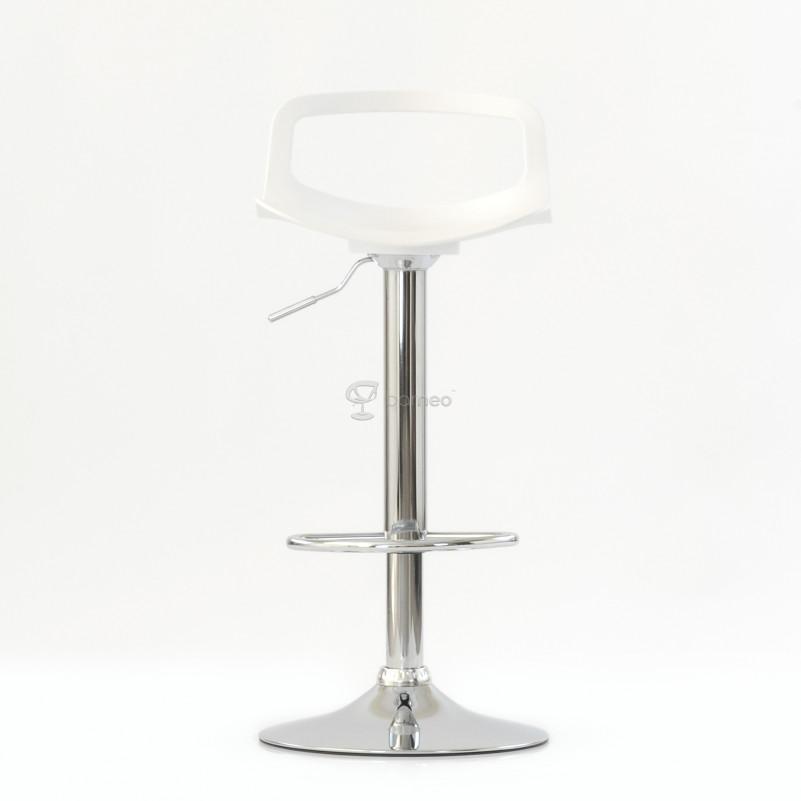 Барный стул Barneo N-263 Rufo - PP белый
