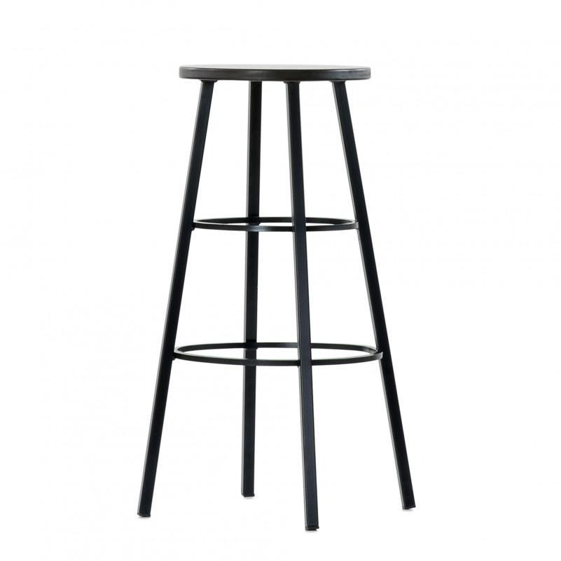 Барный стул Barneo N-303 Taurus, цвет по Ral, сиденье кожа