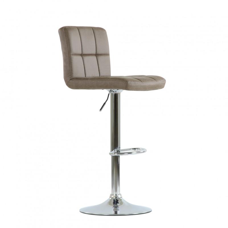 Барный стул Barneo N-47 Twofold / Black Vintage - PU темн.коричн кожа