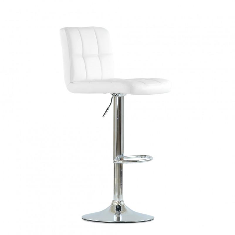 Барный стул Barneo N-47 Twofold / Black Vintage - PU белая