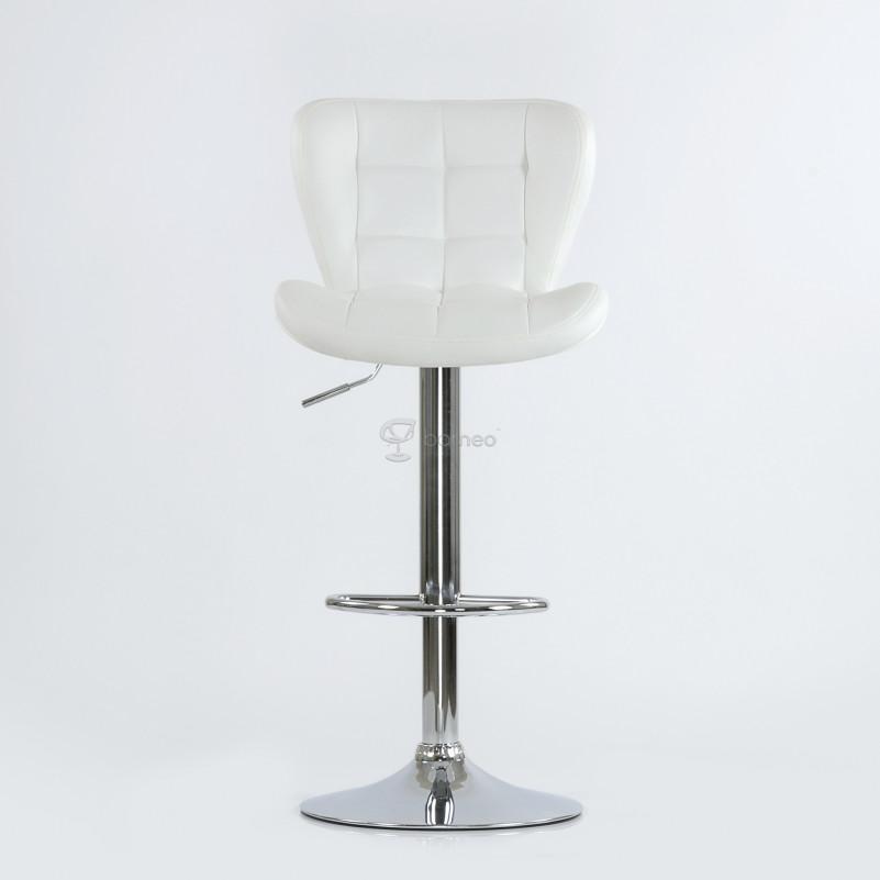 Барный стул Barneo N-30 First - PU белая экокожа