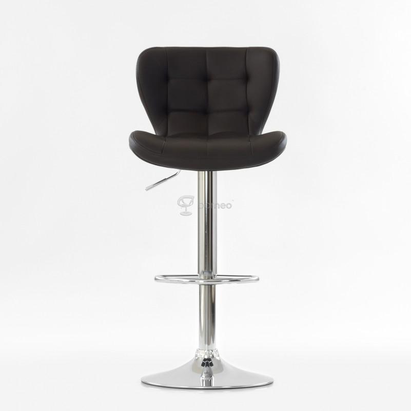 Барный стул Barneo N-30 First - PU коричневая экокожа