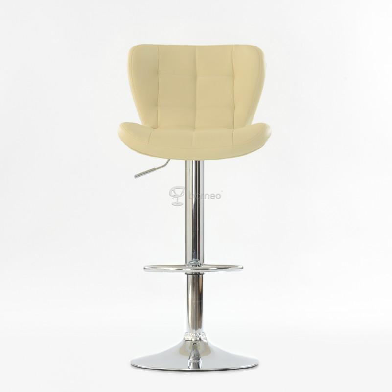 Барный стул Barneo N-30 First - PU бежевая экокожа