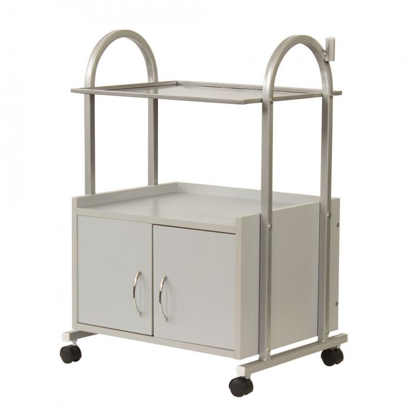 Косметологический столик МД-103 серебро